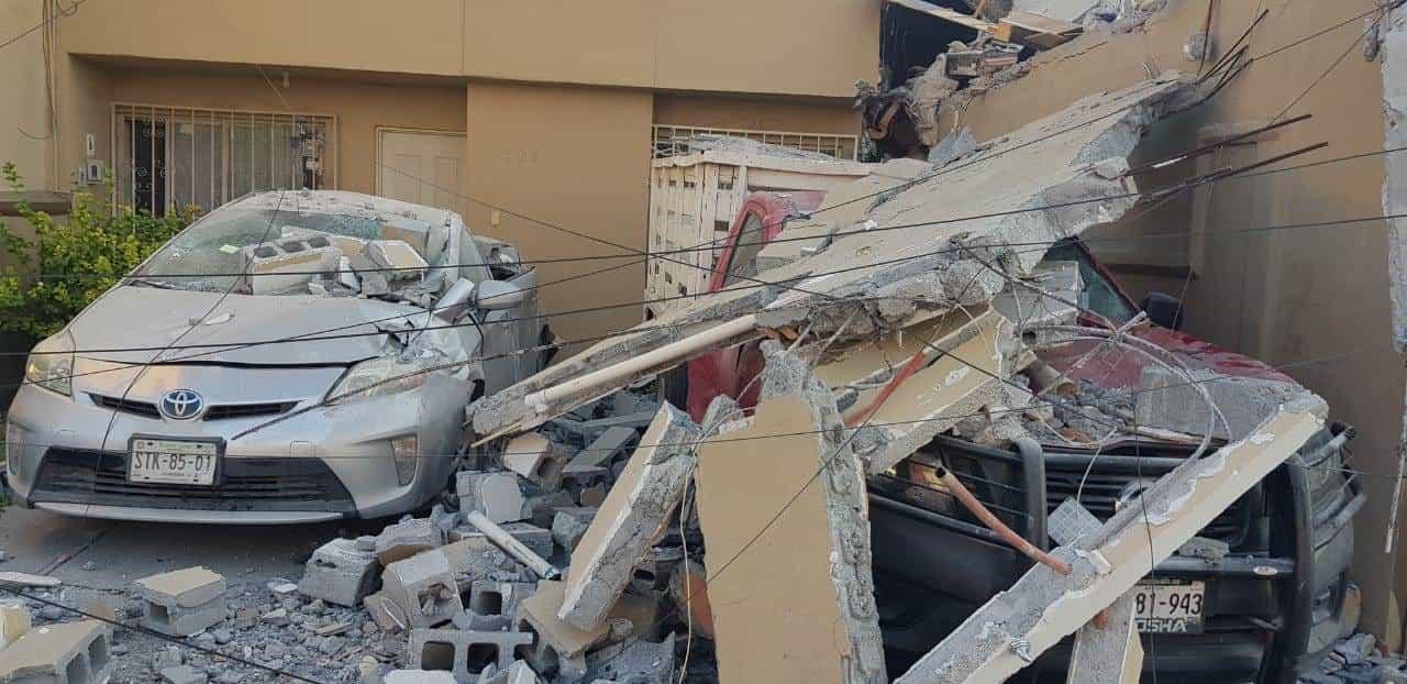La explosión en un domicilio del municipio de San Nicolás, se presentó por acumulación de gas