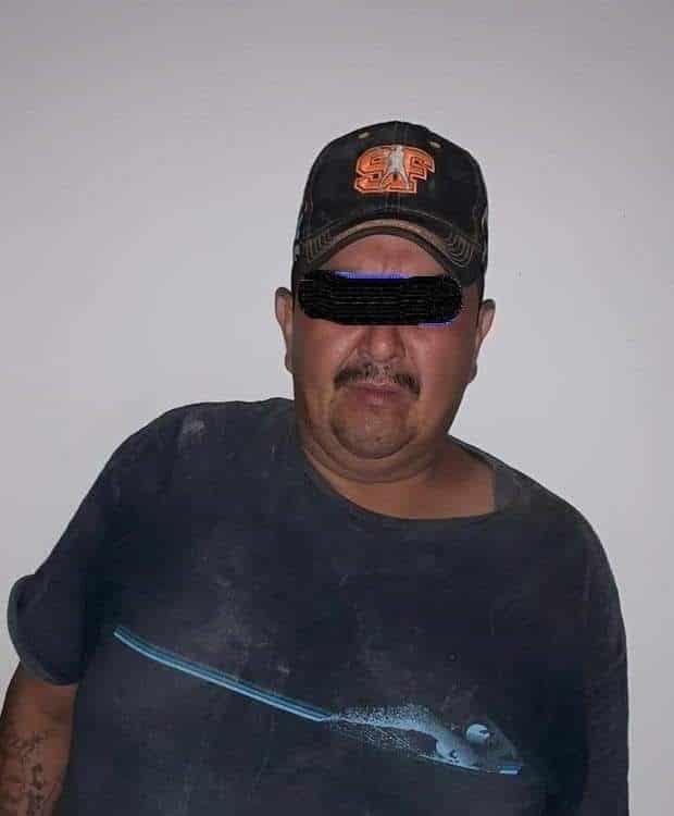 Tenía en su poder una retroexcavadora, que fue robada del municipio de Montemorelos