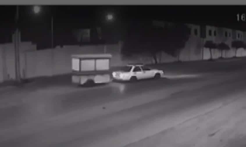 Intentan ubicar a tres delincuentes, que robaron un puesto de tacos