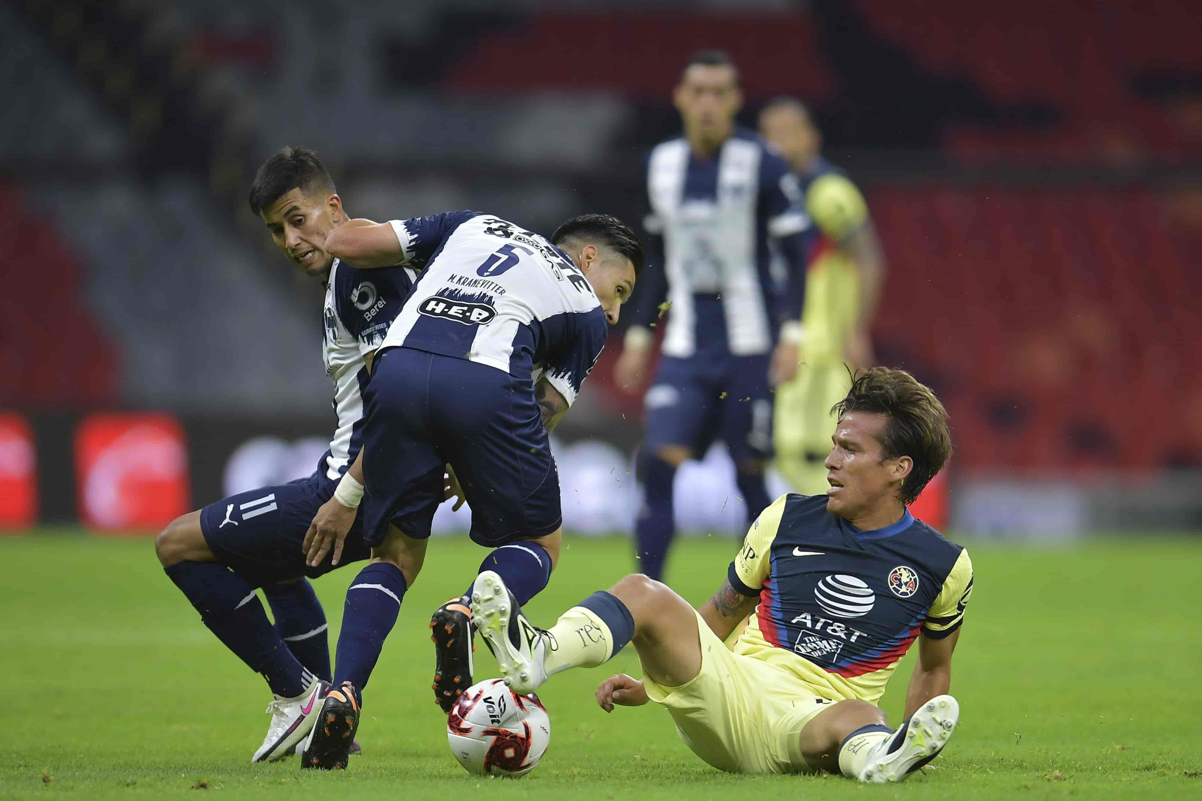 América 1-3 Monterrey