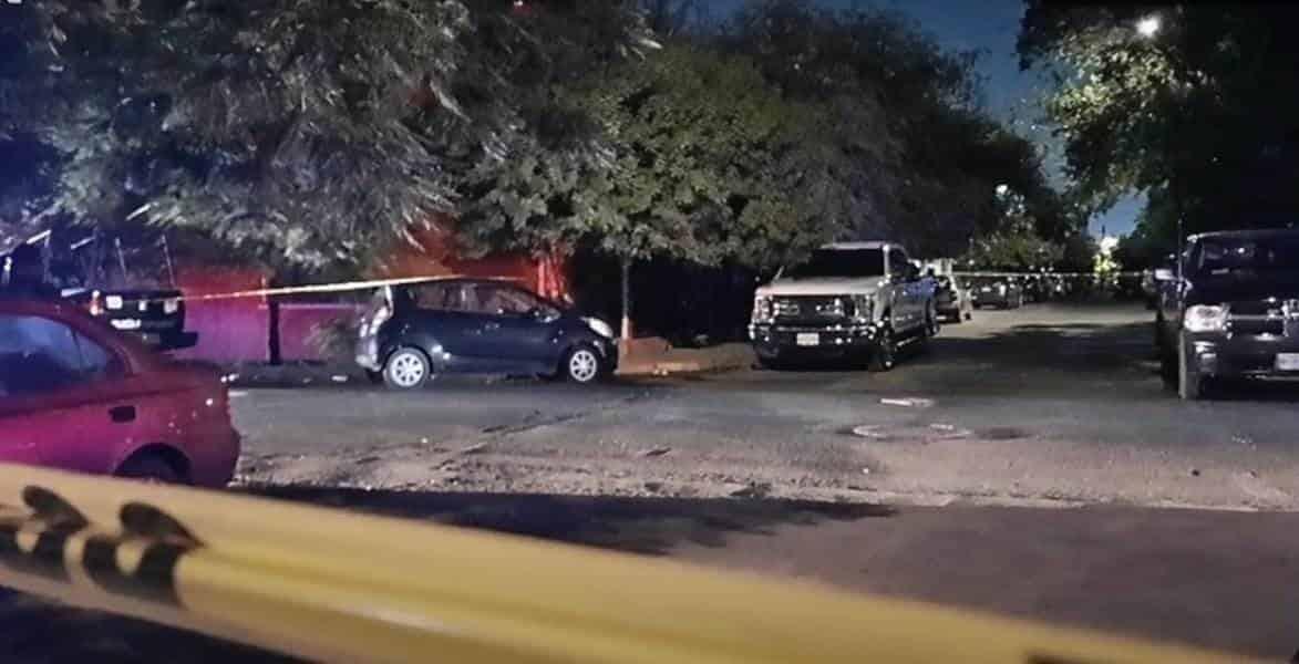 Se registró una balacera entre presuntos sicarios y los invitados a una fiesta