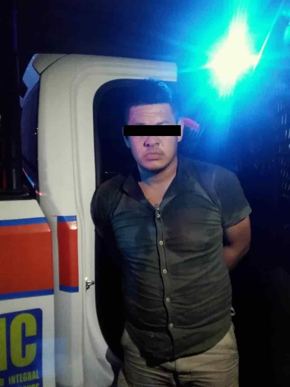 El narcodistribuidor, que portaba una gran cantidad de droga