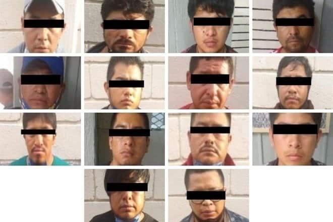 Detuvieron una banda de 14 polleros que transportaba centroamericanos