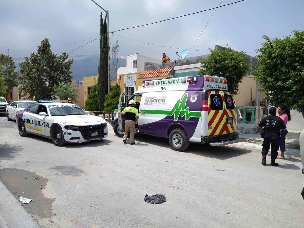 El hombre fue baleado en calle Paseo de Guadalupe