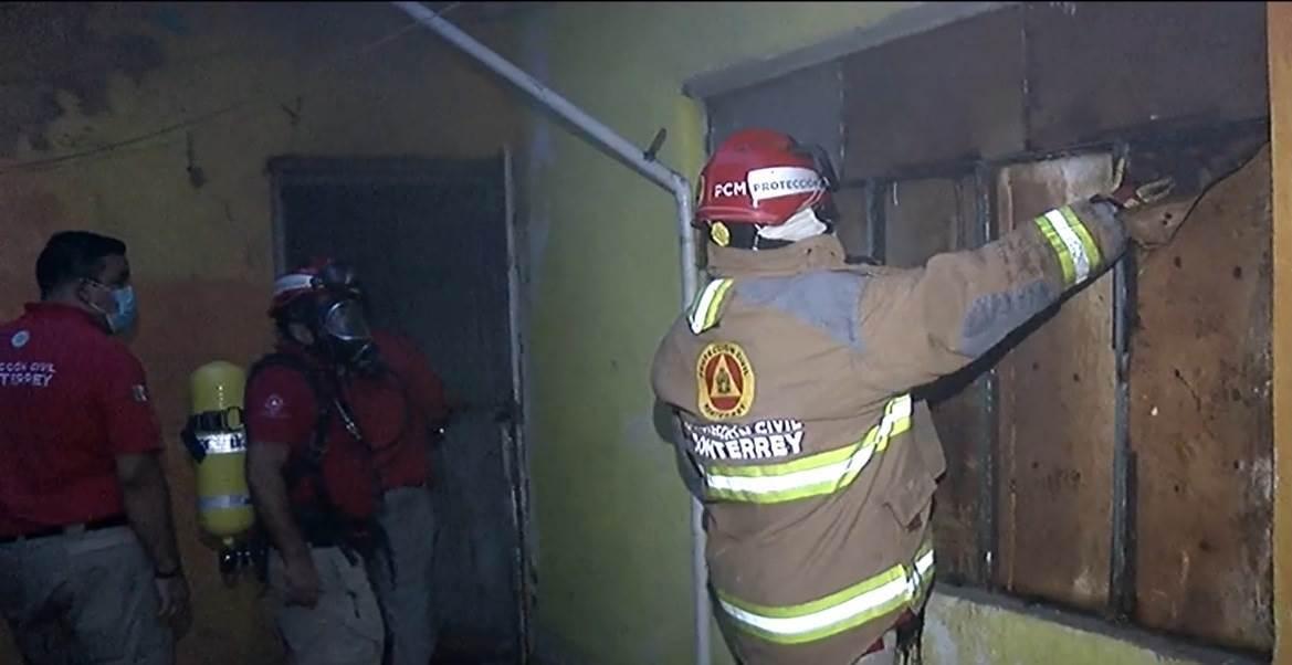 El incendio se registró en una vivienda en La Moderna