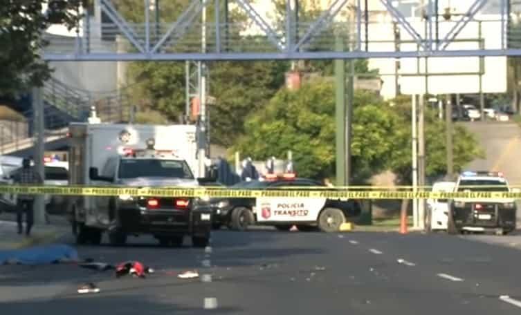 El motociclista perdió la vida al derrapar su unidad en San Pedro