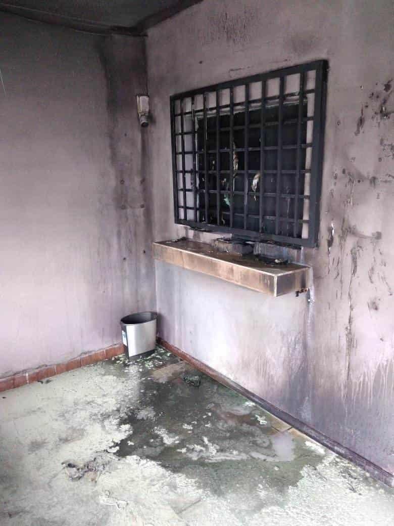 Los ladrones incendiaron la casa de cambio, sin que se reportaran lesionados