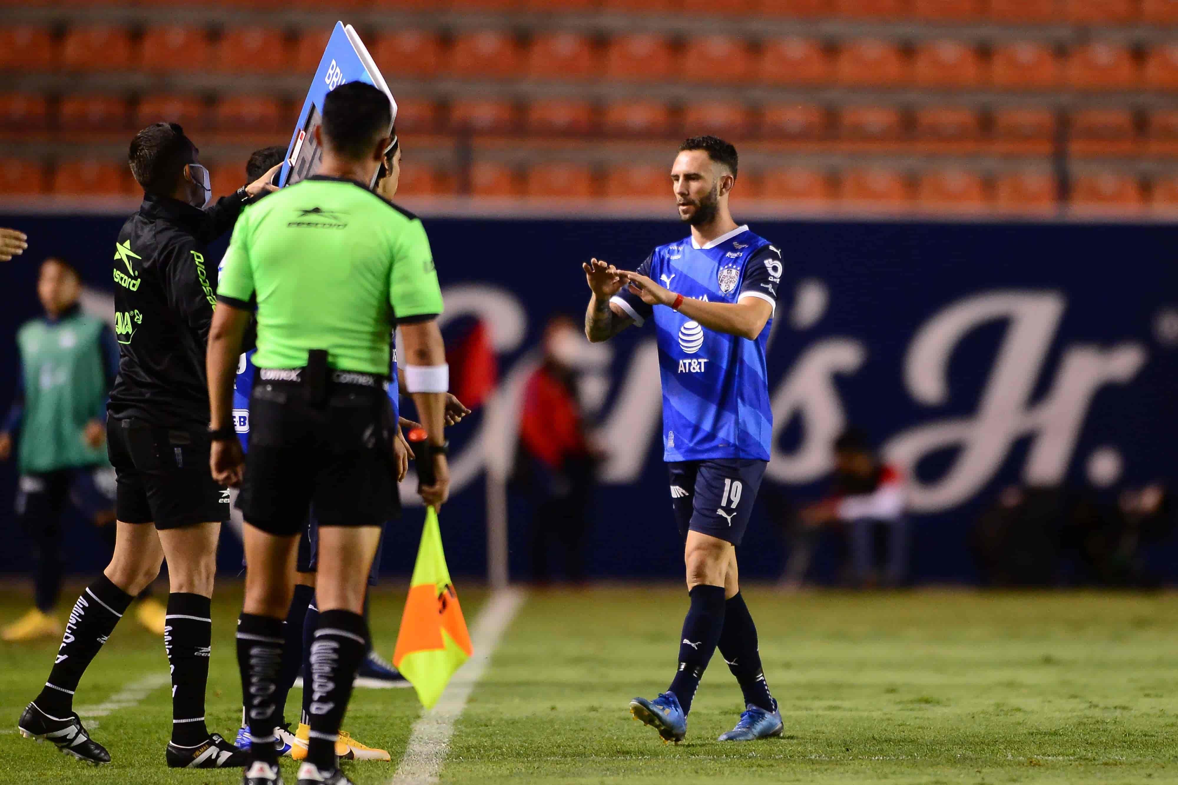 Monterrey abrió el marcador al minuto 19