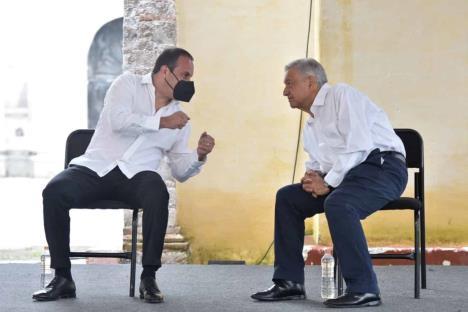 Blanco reitera apoyo al gobierno de AMLO