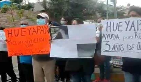 Damnificados del 19-S en Morelos piden ayuda de AMLO