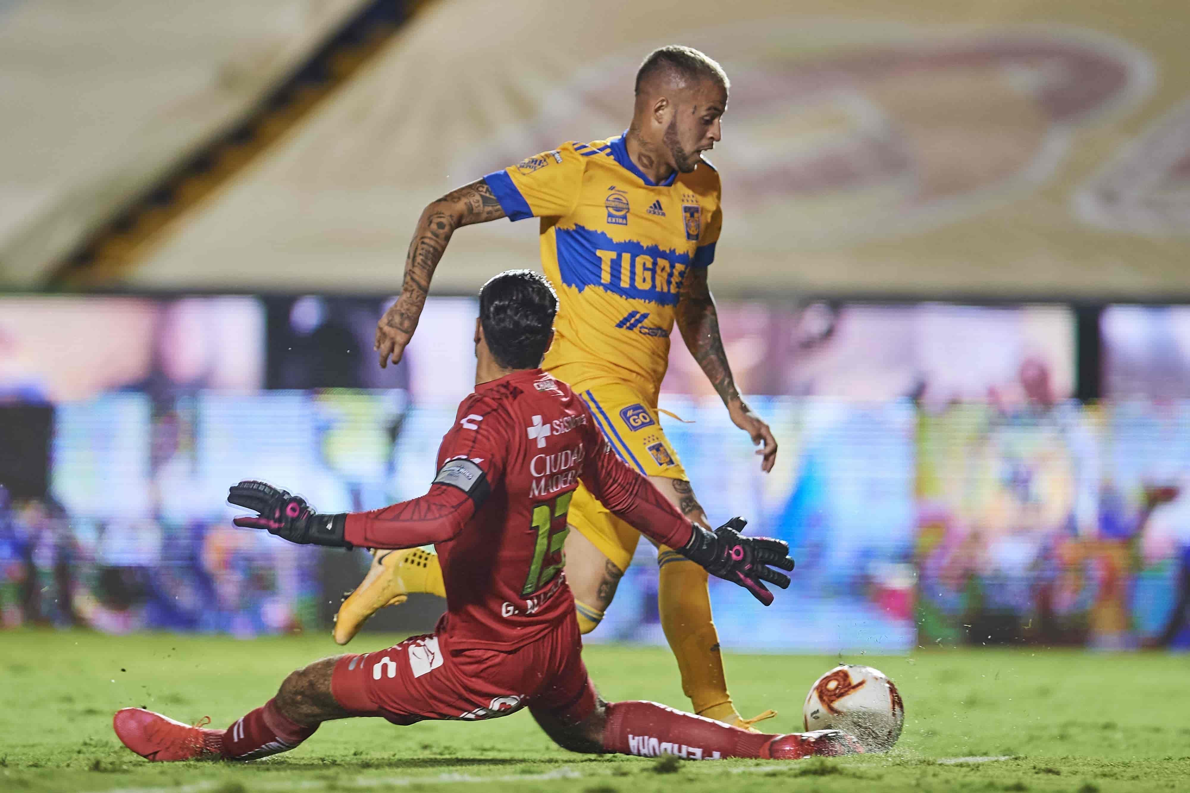 Tigres 3 - 0 Club Querétaro