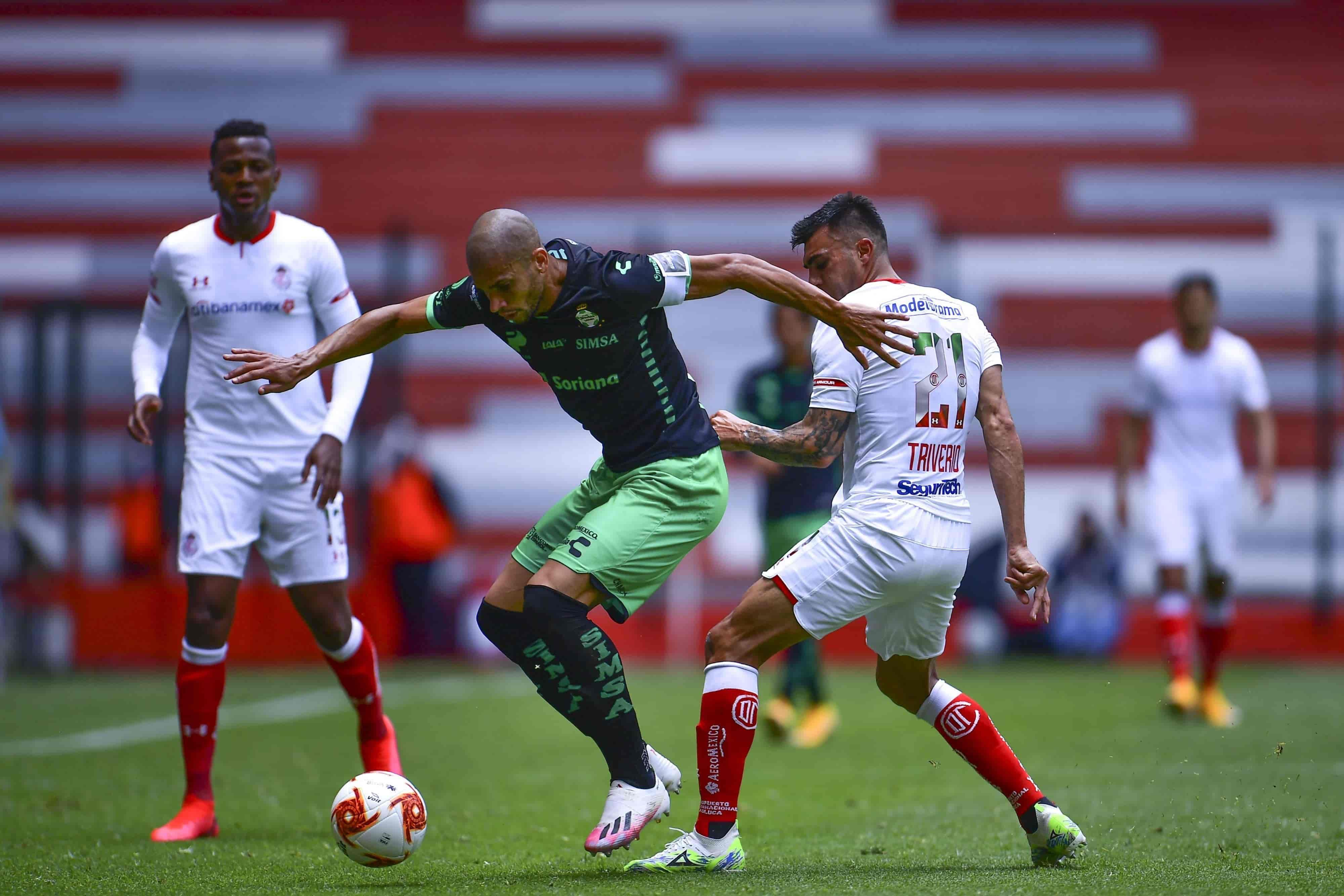 Toluca 1 - 2 Santos