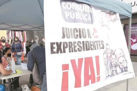 Rechaza comisión de la verdad para investigar expresidentes