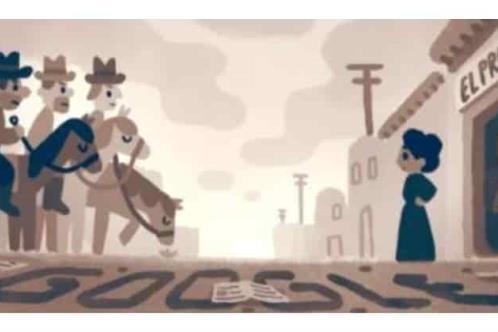 Google dedica su Doodle a Jovita Idár