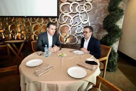 Se reúnen Adrián e Idelfonso con miras al 2021