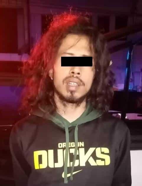 El narcomenudista originario de Tampico, fue detenido por posesión de marihuana