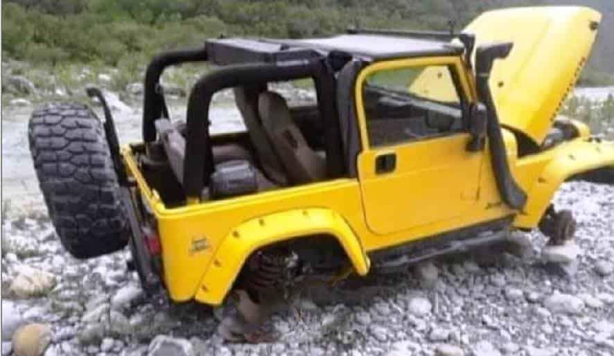Indagan el caso de un jeep que terminó desmantelado
