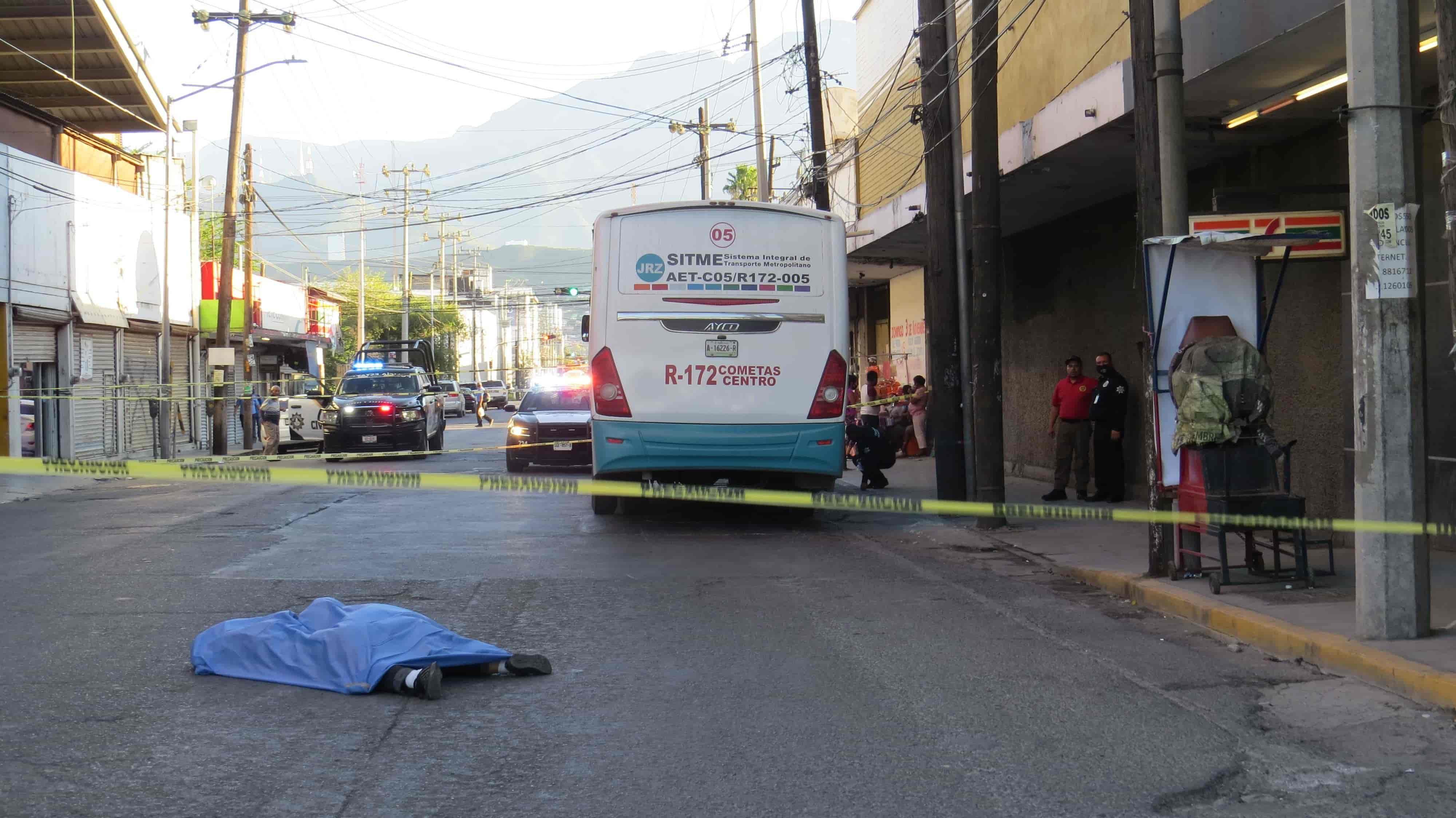 La mujer perdió la vida al ser arrollada por el operador de un camión urbano