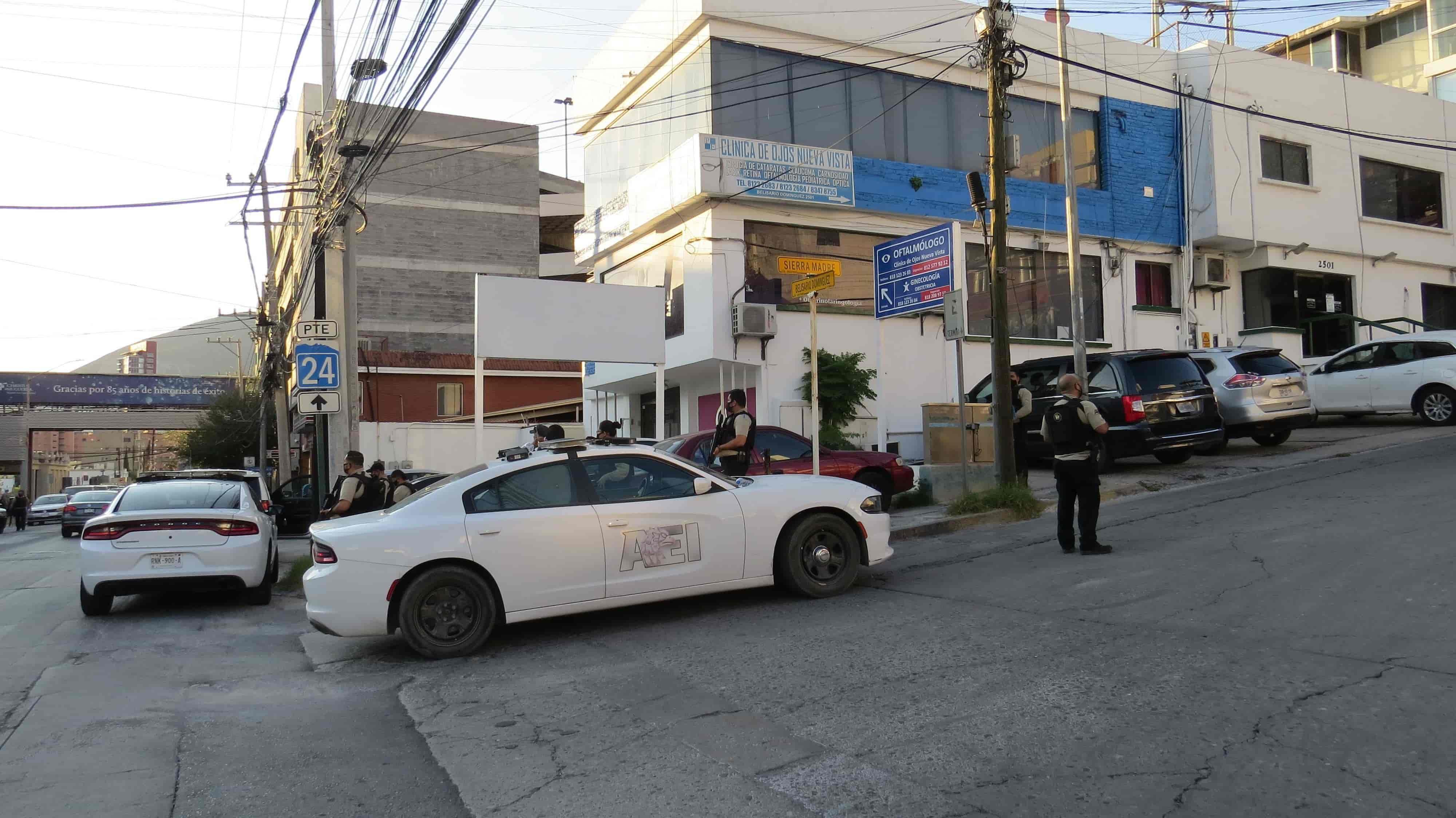 """""""Sitiaron"""" las instalaciones del Hospital Muguerza, tras recibir el reporte de gente armada al interior"""