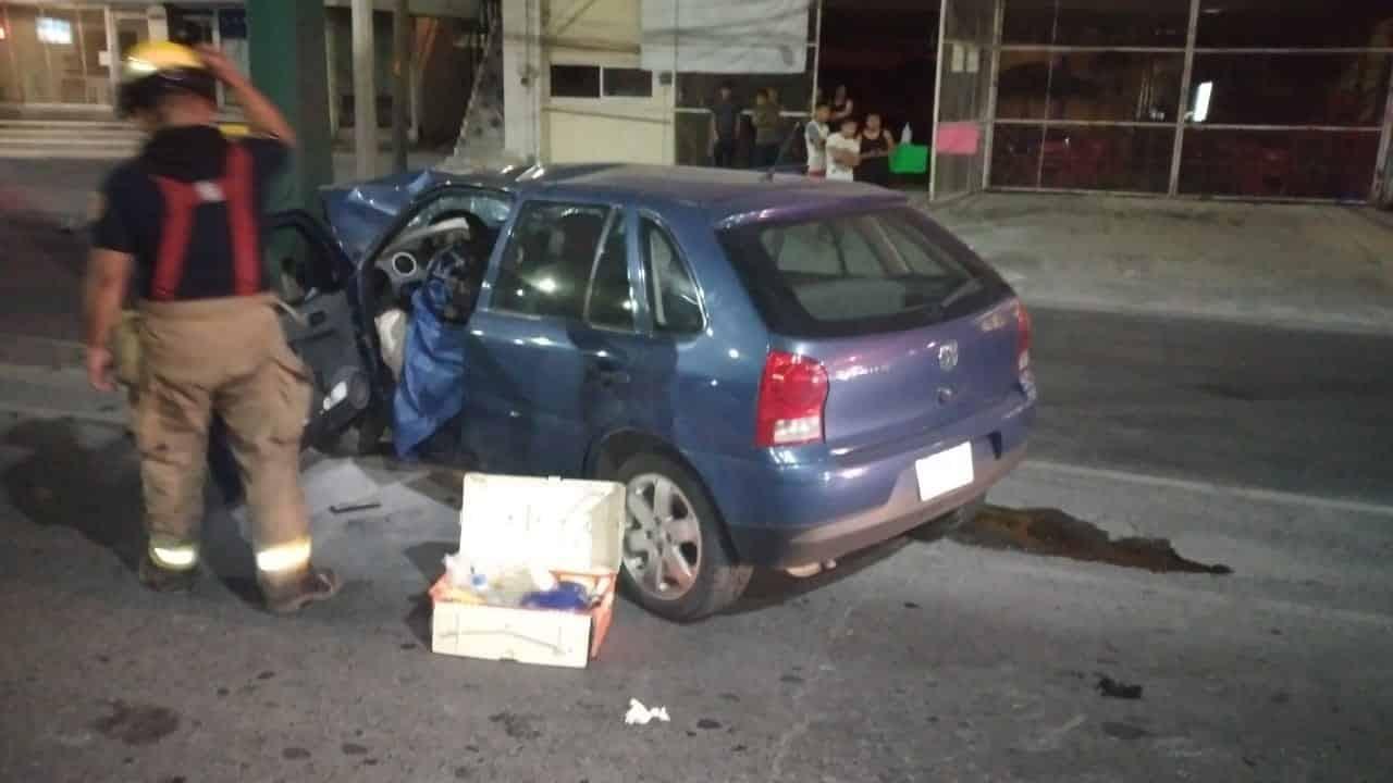 El conductor murió luego de presuntamente, dormitar al volante