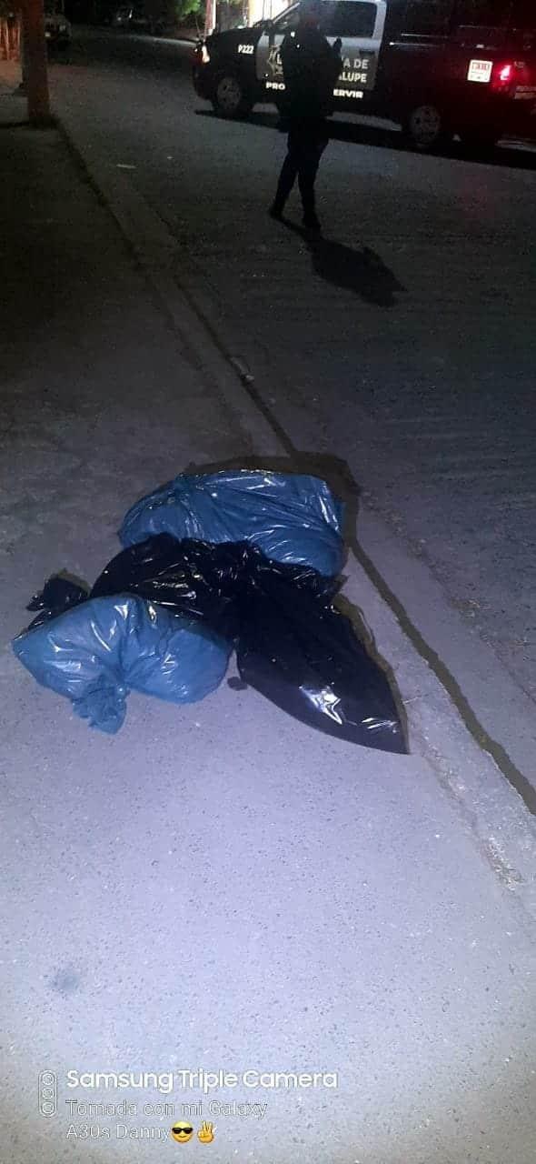 El cadáver de un hombre mutilado se encontró dentro de dos bolsas de plástico