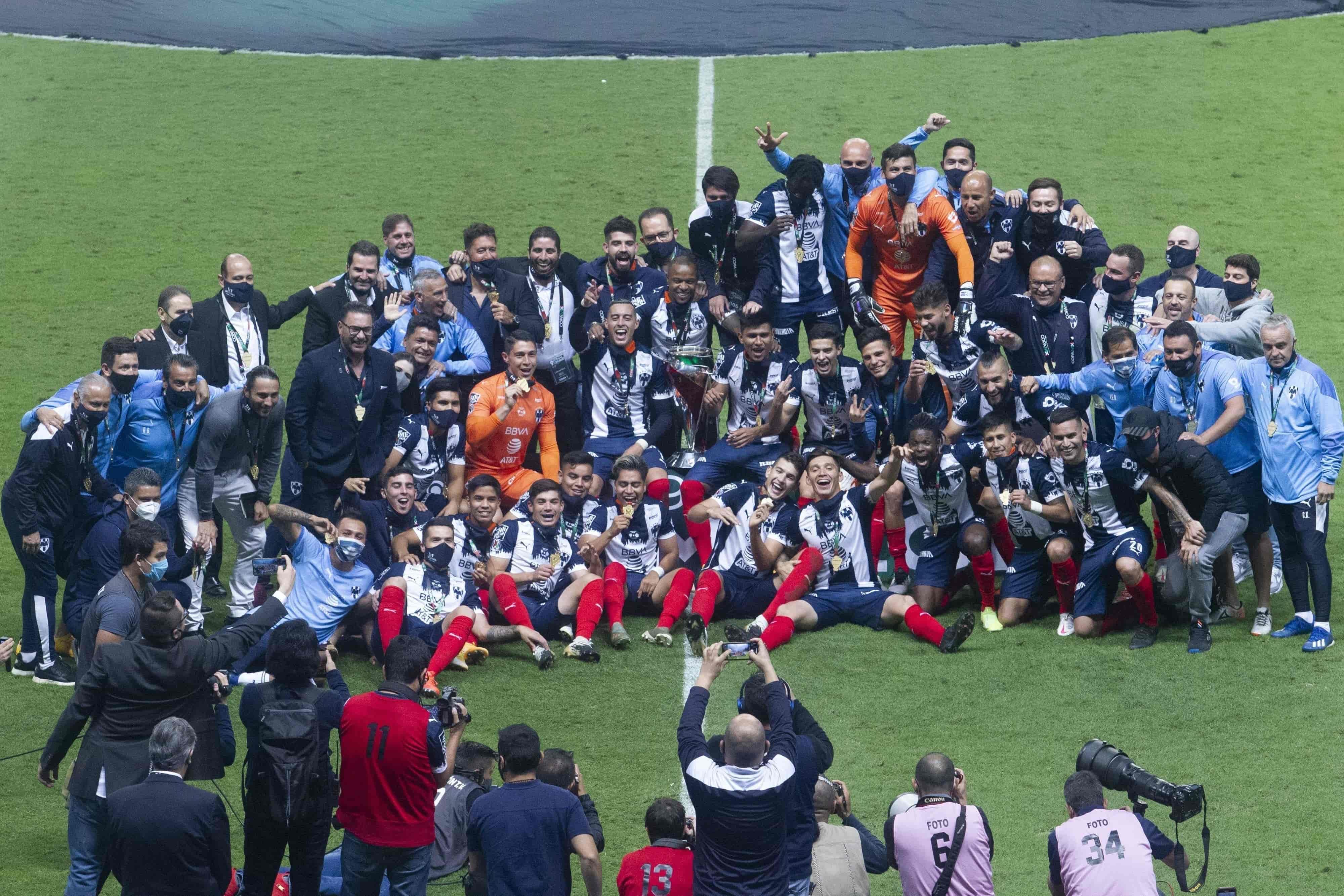 Campeones de Copa MX, Liga MX y Concachampions
