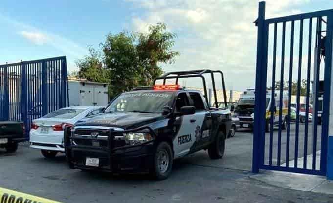 El guardia de seguridad privada, fue encontrado sin vida, dentro de un camión blindado de valores