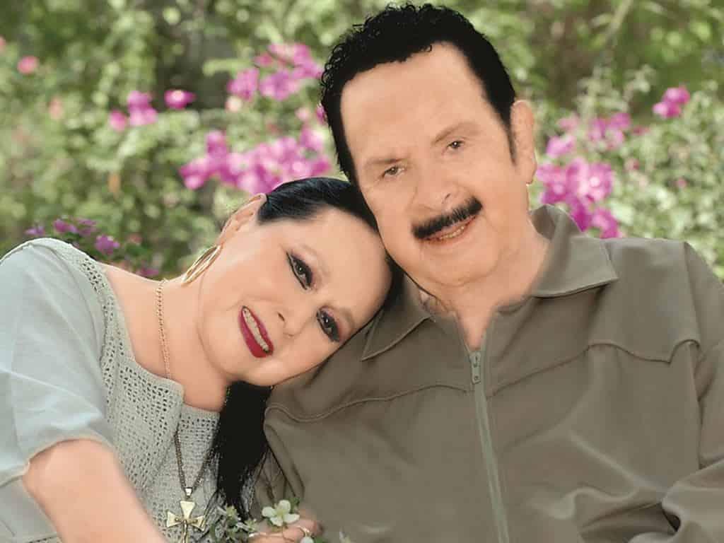 Flor Silvestre y su esposo Antonio Aguilar