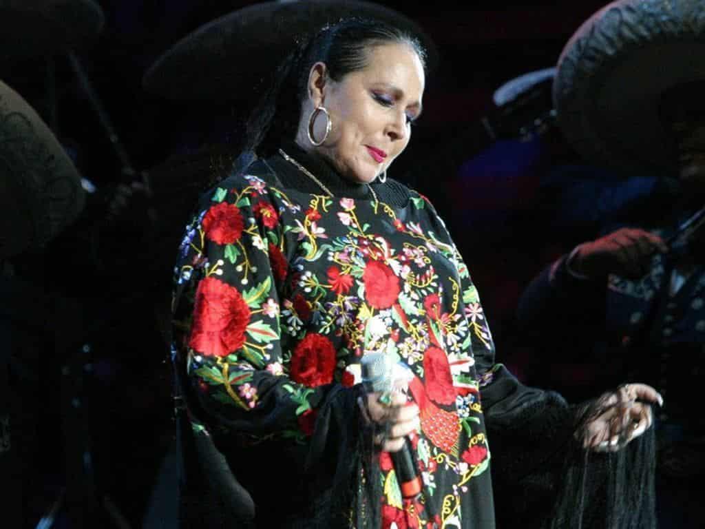 Flor Silvestre en uno de sus conciertos