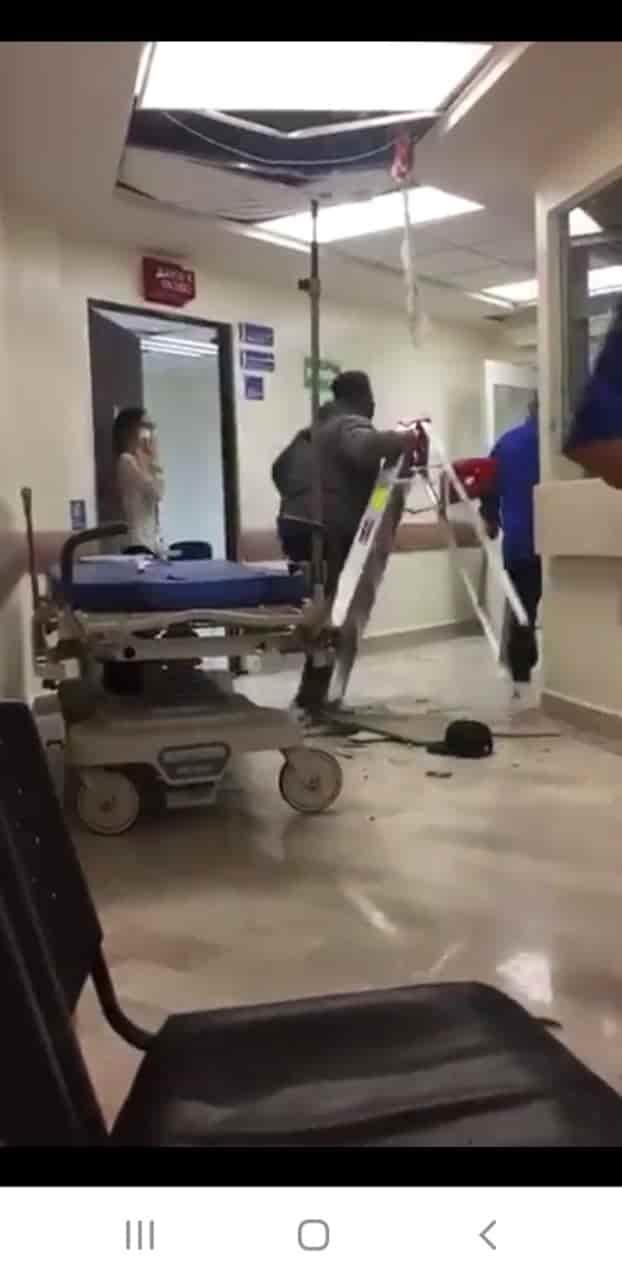Intentó escapar del nosocomio por medio de los ductos de aire acondicionado