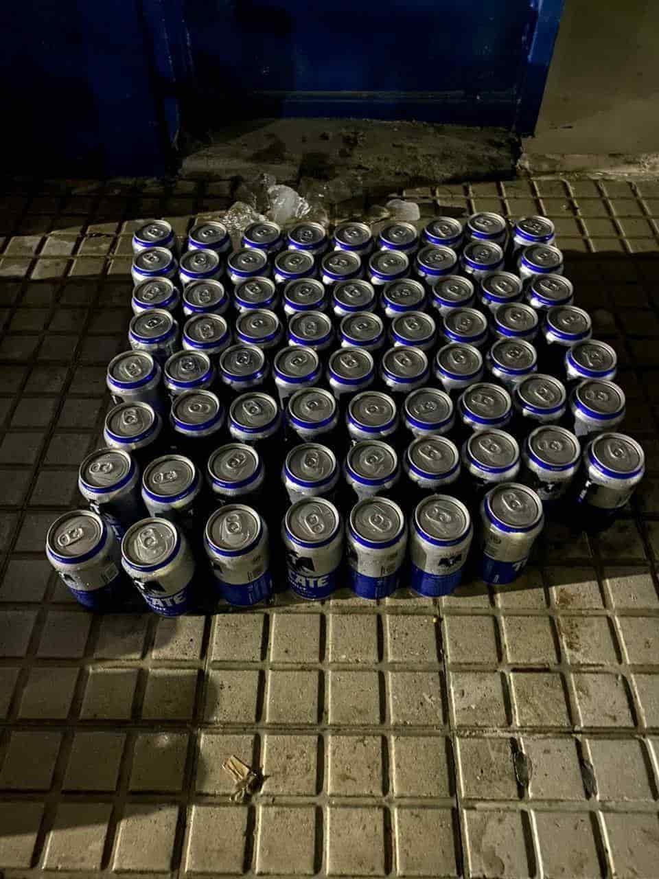 Detuvieron a cinco personas por vender bebidas embriagantes