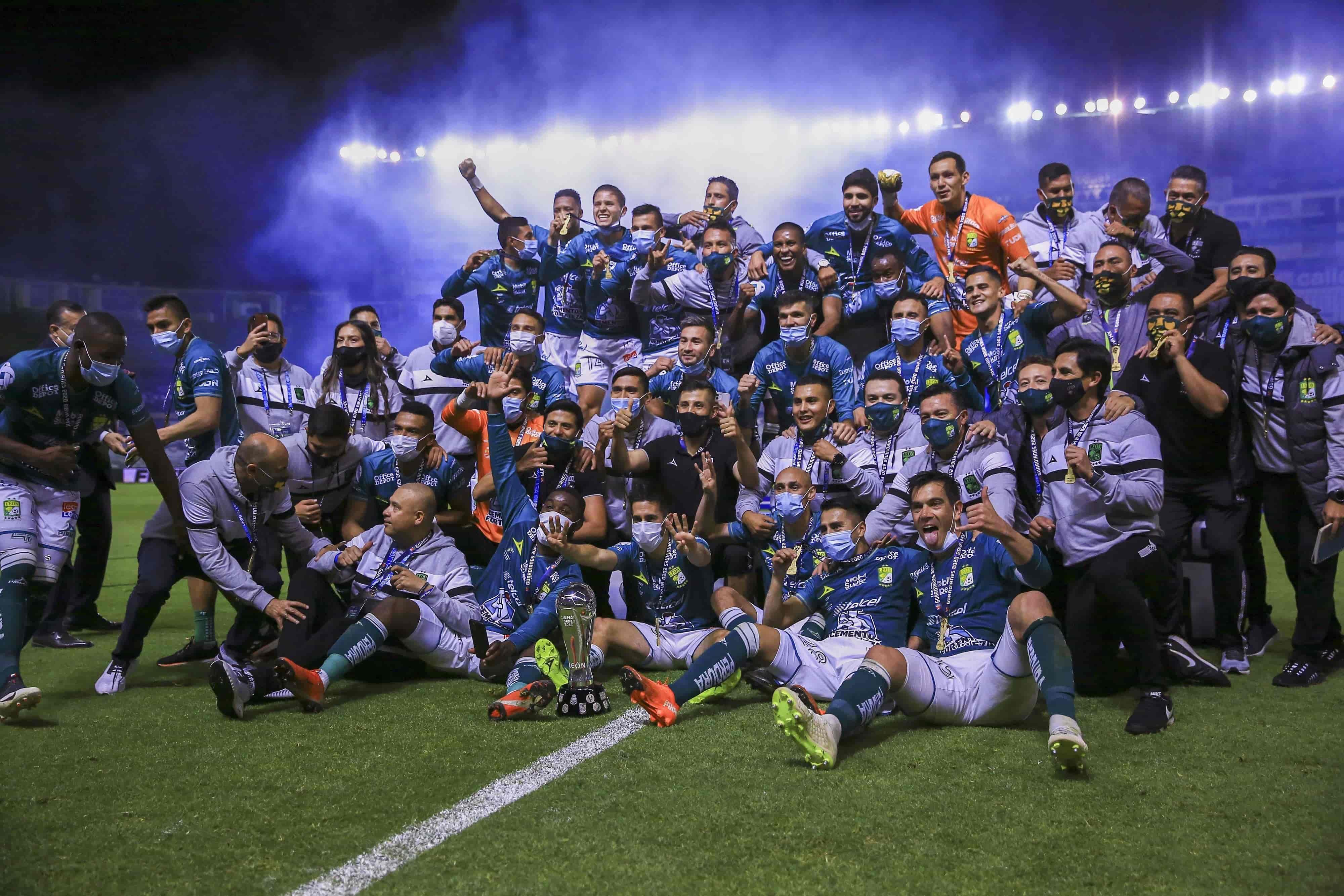 León Campeón del Guard1anes 2020