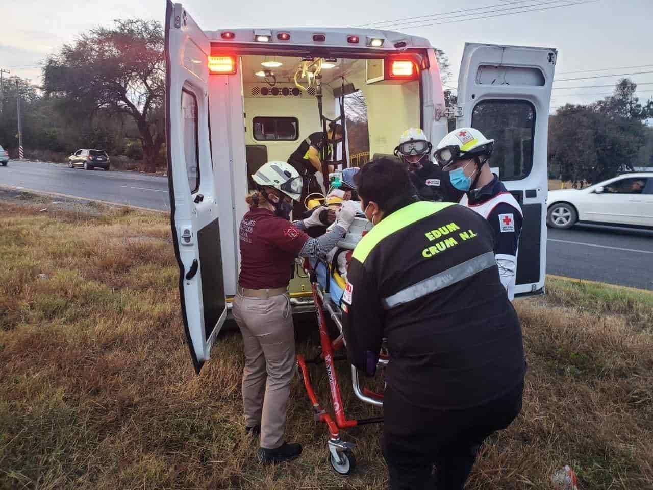 Entre los afectados se encuentran un motociclista y el conductor de una camioneta