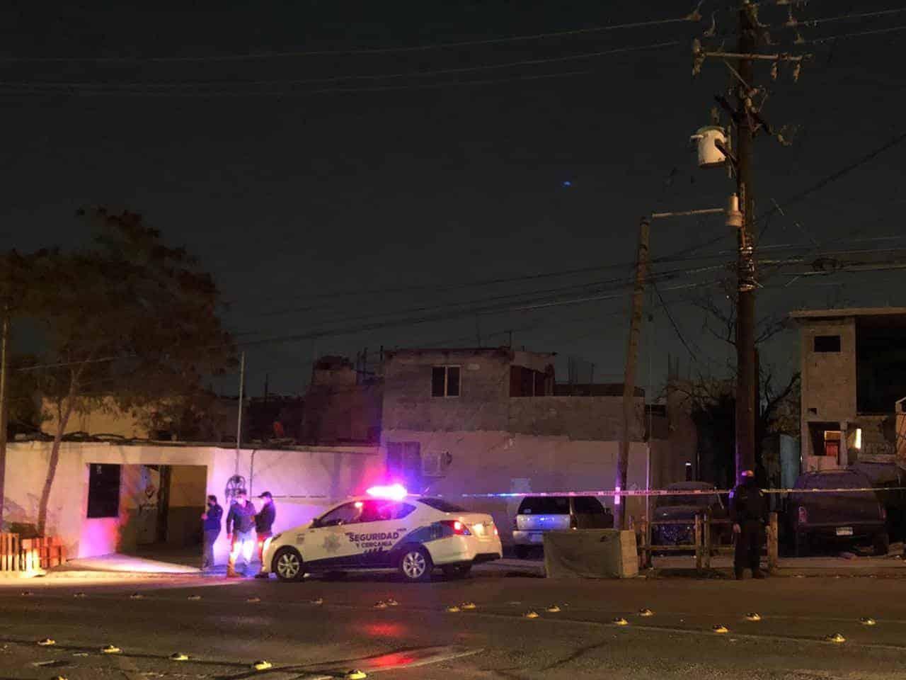 El hombre fue herido a balazos por un vecino
