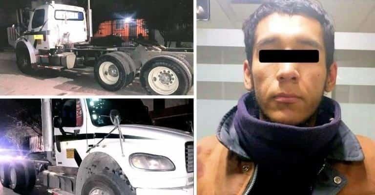 Vecinos sometieron a un delincuente, que intentó robar un tractor