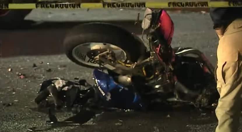 Muere motociclista en choque en Guadalupe