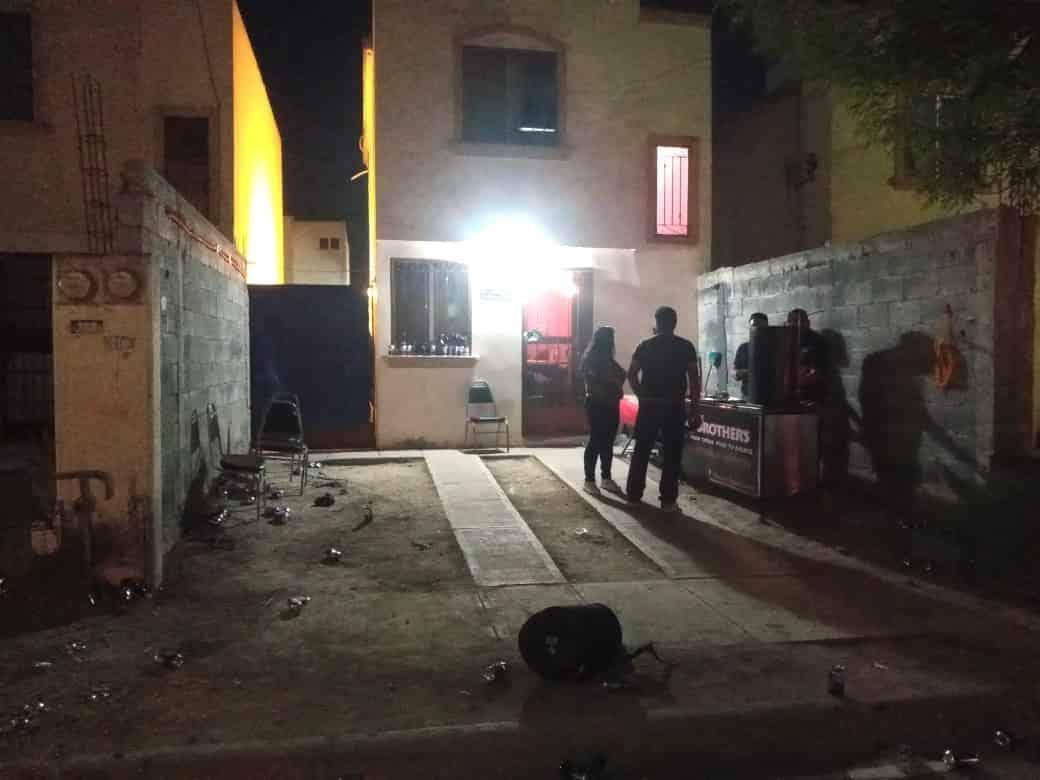 La fiesta de cumpleaños con grupo musical en vivo fue suspendida por policías de Apodaca