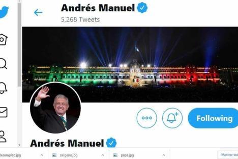 Twitter México suspende cuentas afines a López Obrador