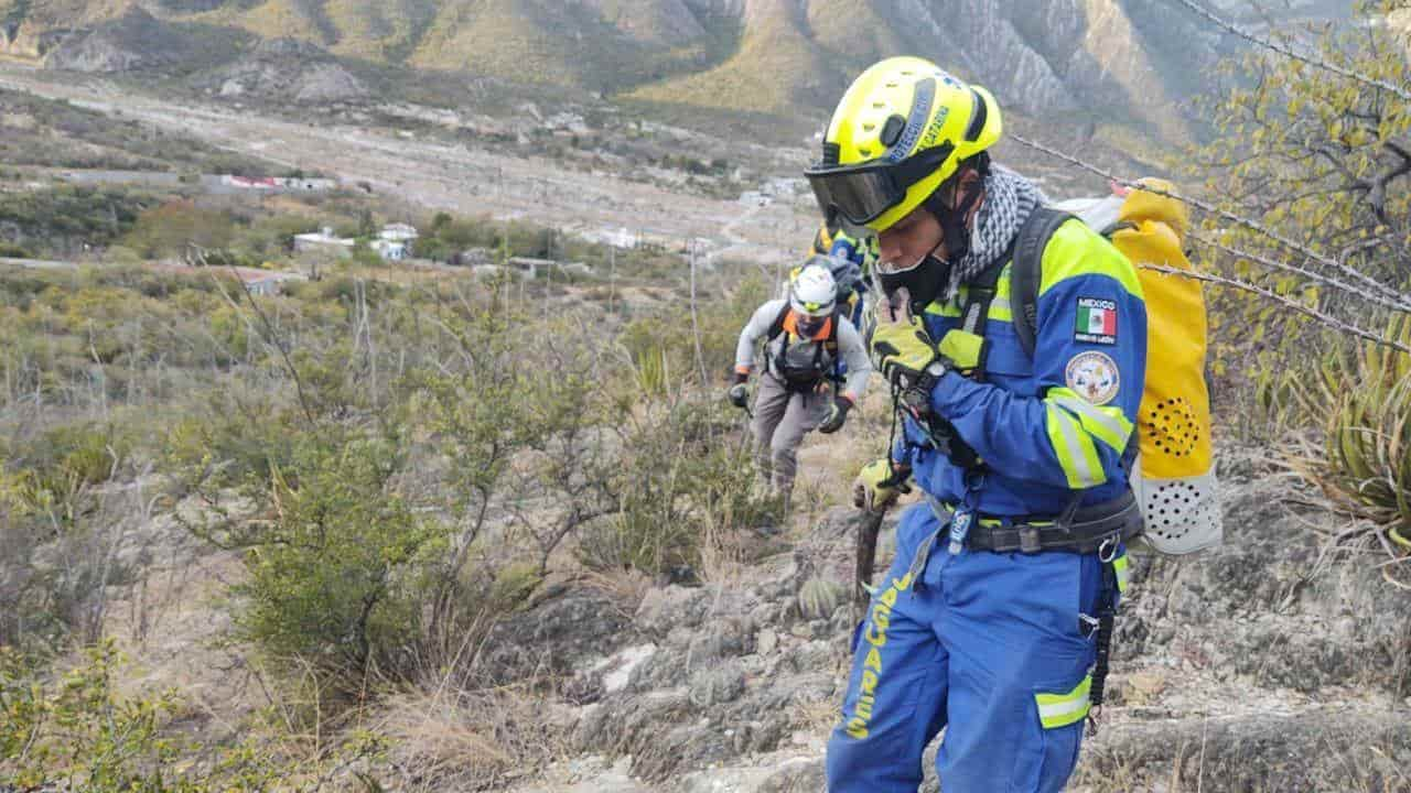 El excursionista se encontraba perdido desde el domingo en el Parque Ecológico La Huasteca