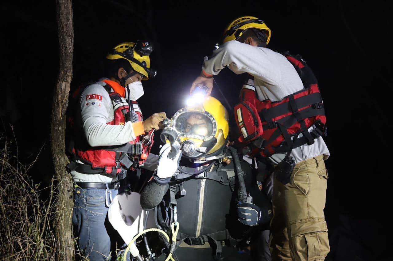 El cuerpo de un joven que se ahogó en una laguna, de Zuazua, fue rescatado