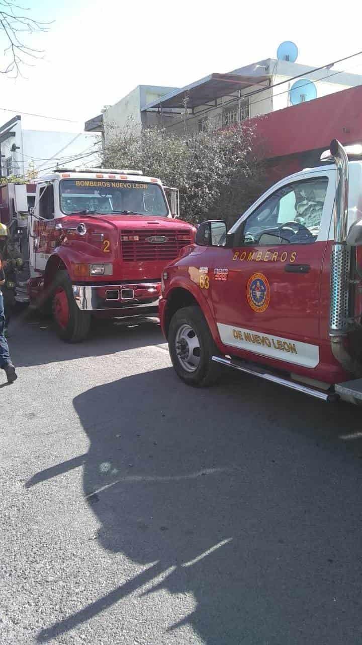 Reportaron un incendio en una casa de Pedregal del Topo Chico