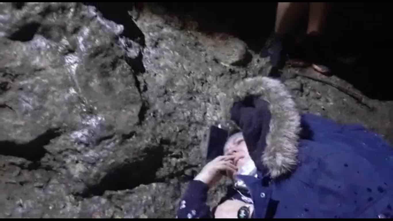 Rescataron a una mujer que resultó lesionada, al caer de una roca en el Cerro del Topo Chico