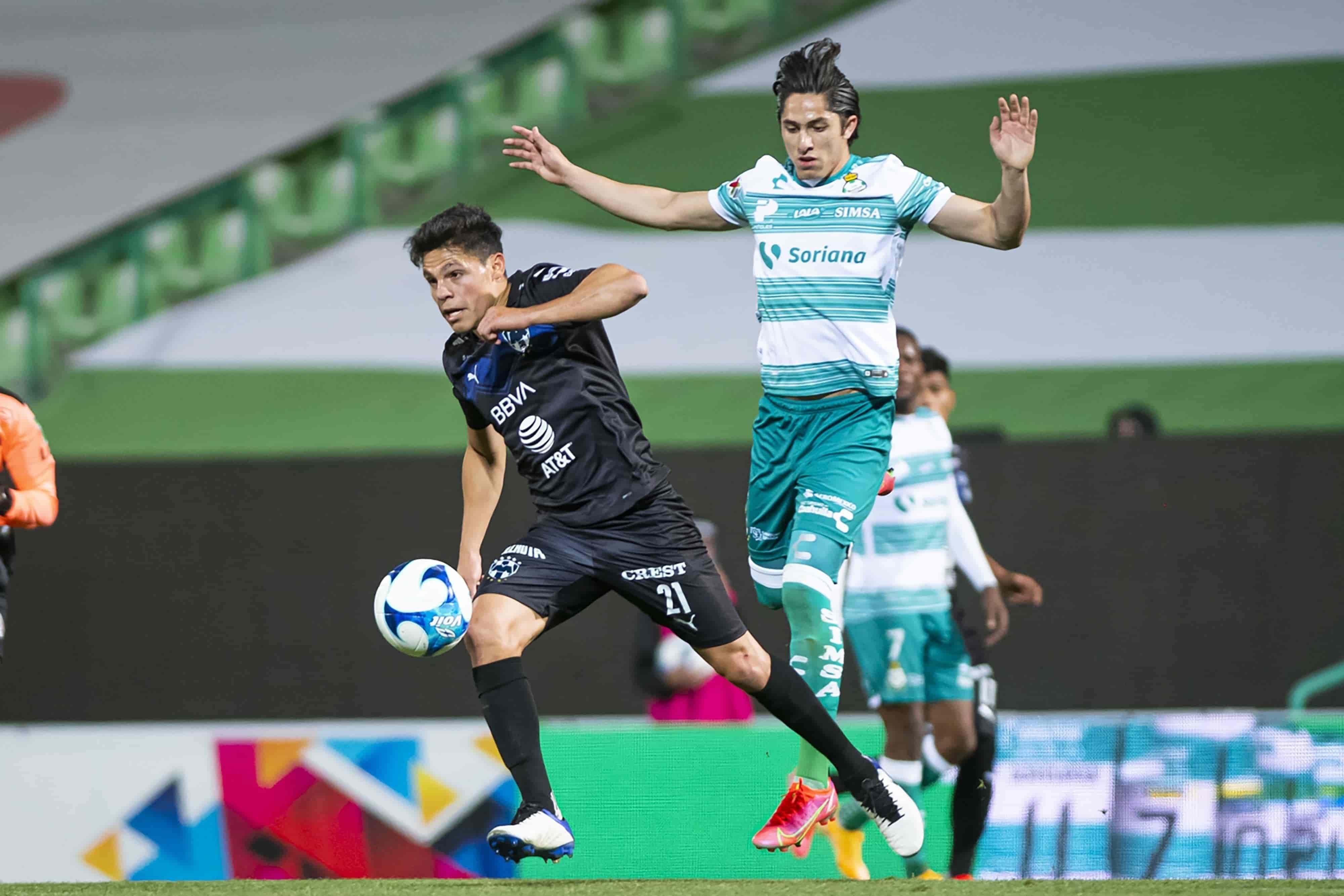 Caen Rayados 0-1 ante Santos