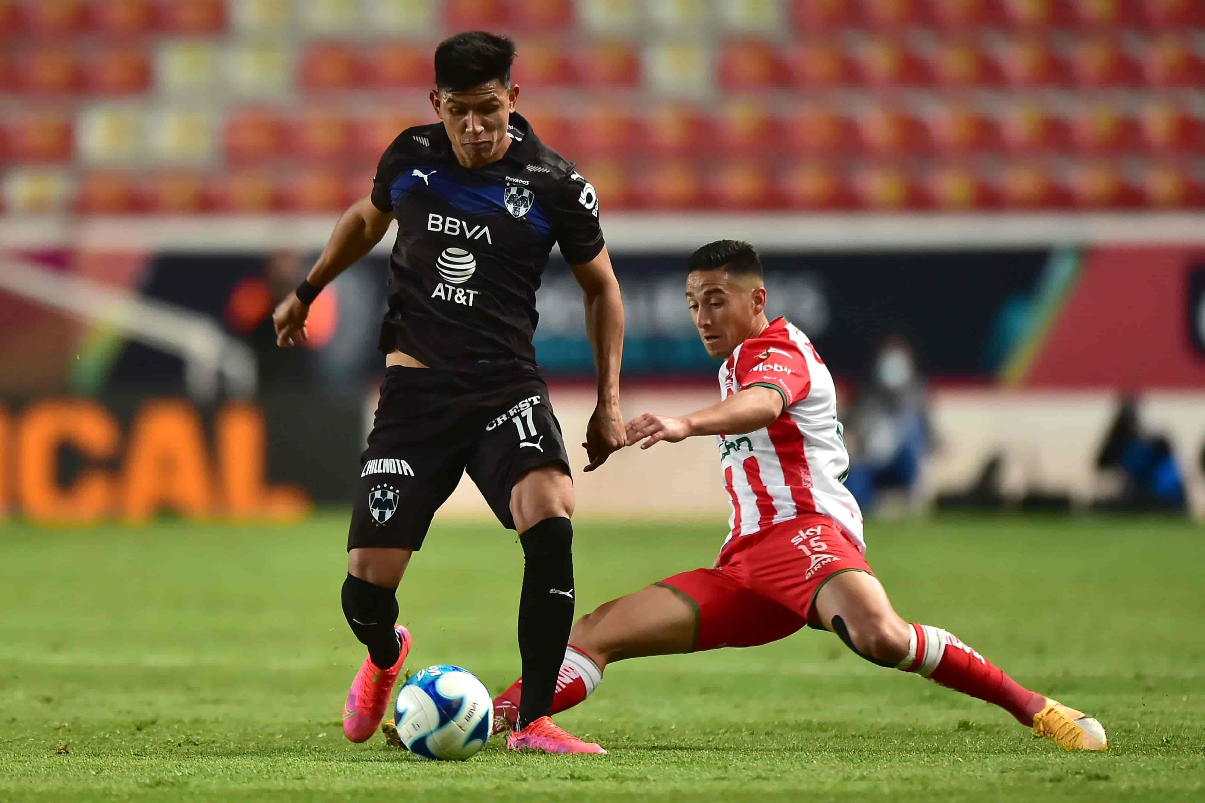 Empatan Necaxa 1-1 Monterrey en la jornada 7