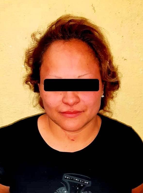 La mujer fue detenida luego de golpear a su esposo e hijo de 5 años