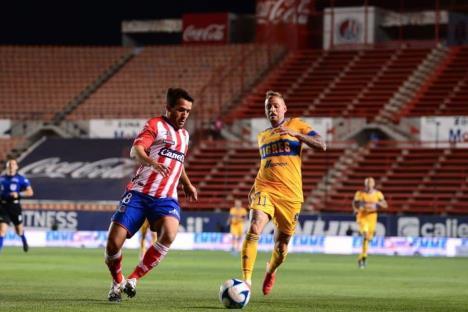 San Luis le saca victoria a Tigres de último momento