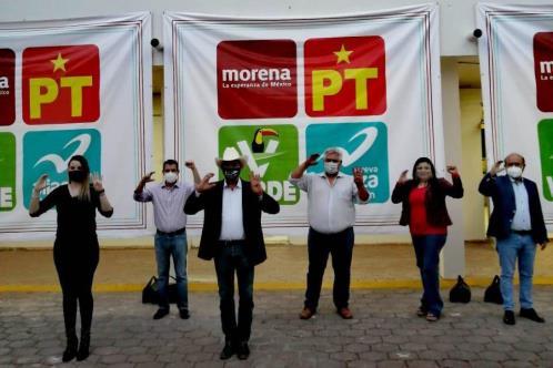 Define Morena candidaturas para 7 alcaldías