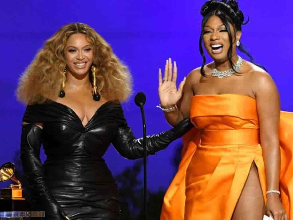 La colaboración entre Megan Thee Stallion y Beyoncé para la canción Savage les valió un Grammy.