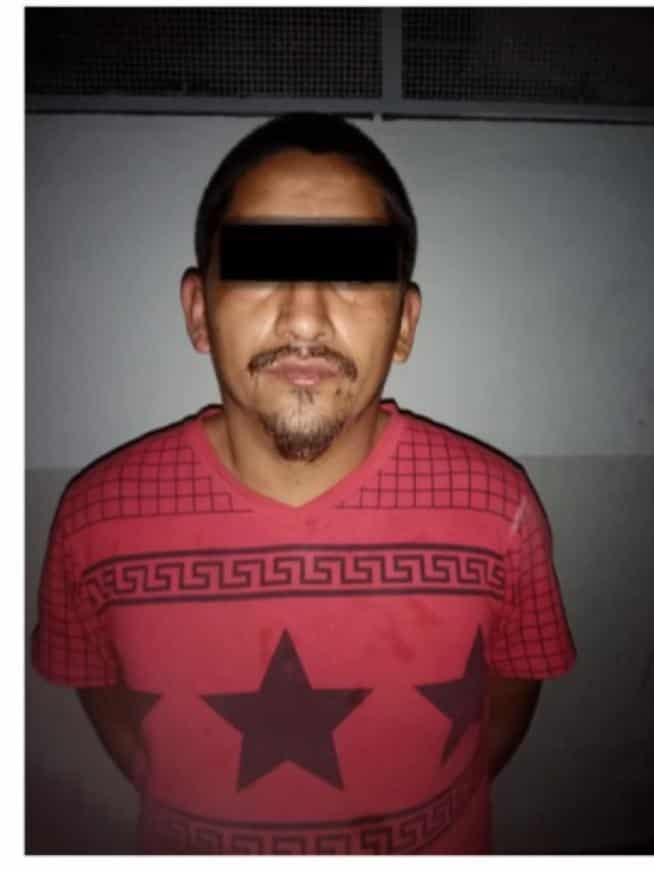 Fue detenido después de golpear a su pareja e intentar asfixiarla