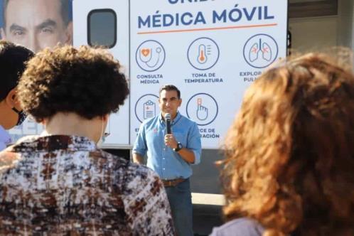 """Anuncia Alfonso Robledo """"Médico en tu casa"""""""